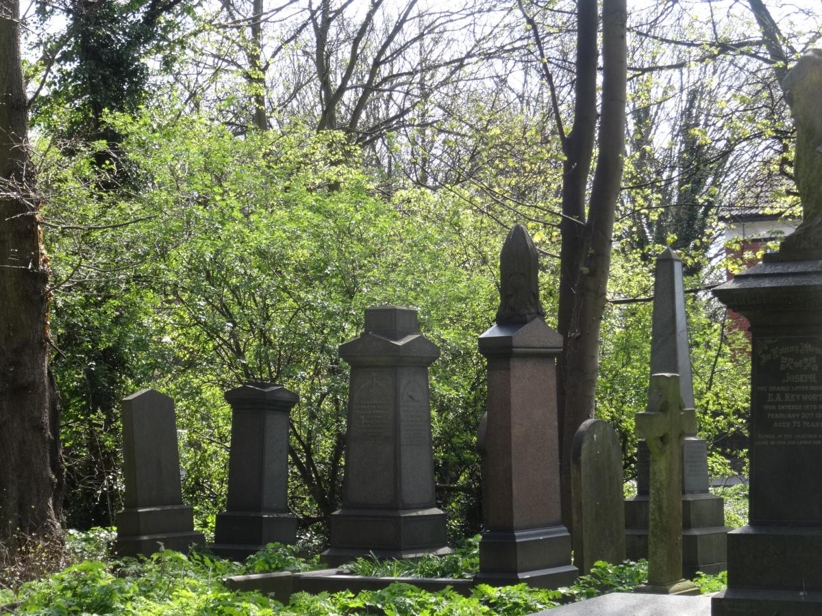 Hull General Cemetery.